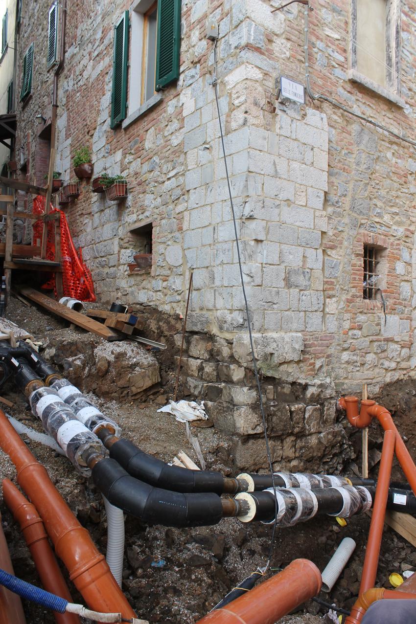 Scavo al Castello di Montieri (GR)