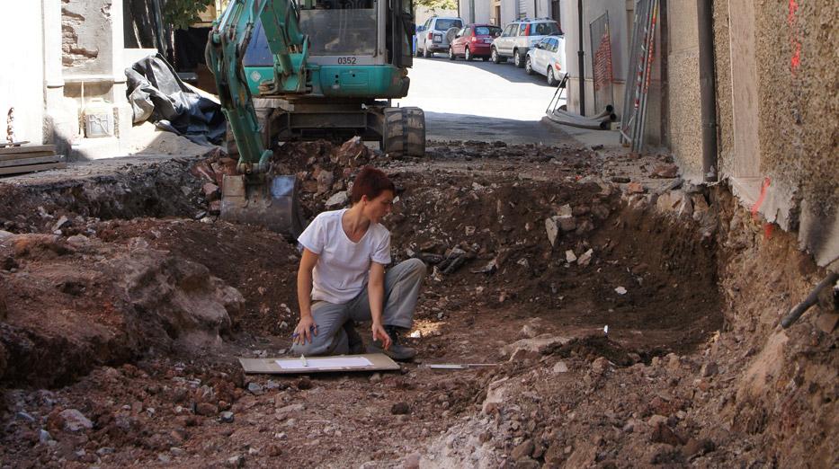 Scavi archeologici nei centri urbani in Toscana