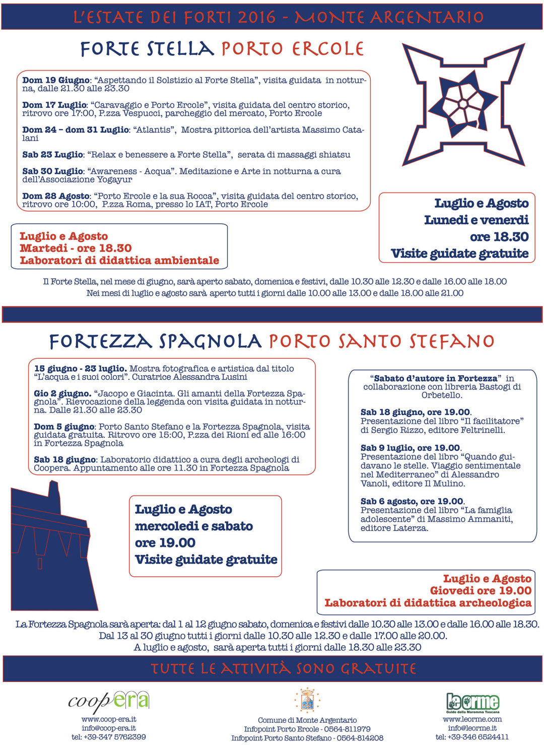 L'Estate dei Forti – Monte Argentario 2016