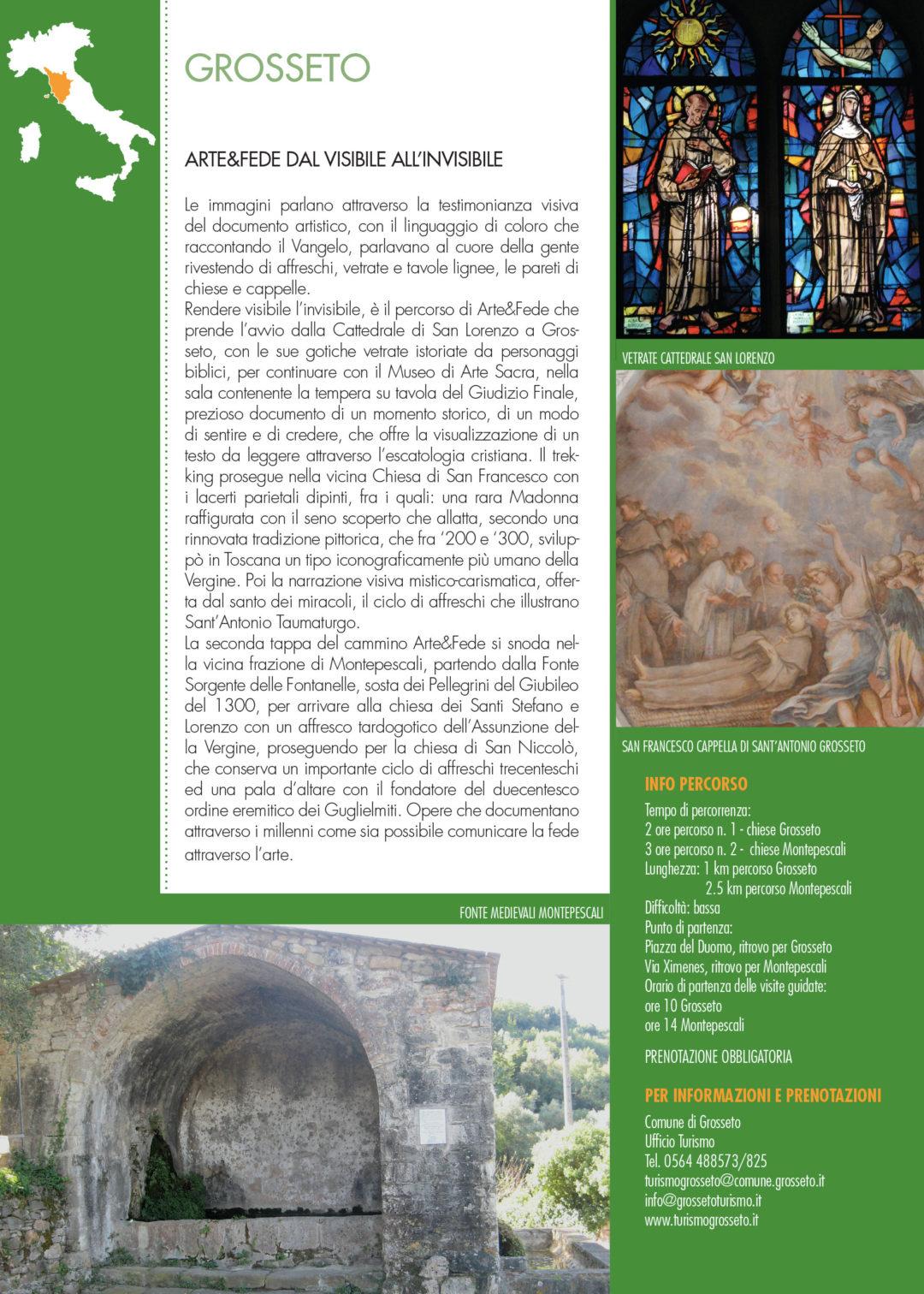 XIII Giornata Nazionale del Trekking Urbano Arte e Fede