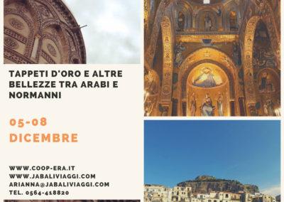 Palermo. Tappeti d'oro e altre bellezze tra Arabi e Normanni