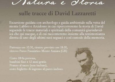 Tra Misticismo, Natura e Storia. Escursione guidata al Monte Labro sulle tracce di David Lazzaretti